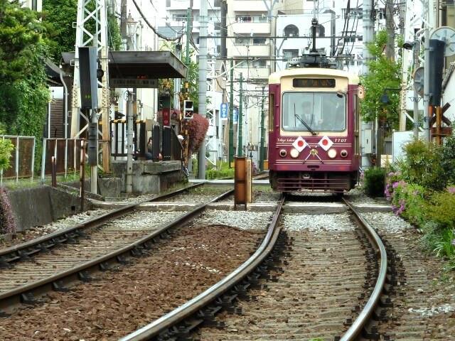 庚申塚駅の写真